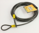 onguard 8073 akita 30ft steel cable with double looped ends. Black Bedroom Furniture Sets. Home Design Ideas