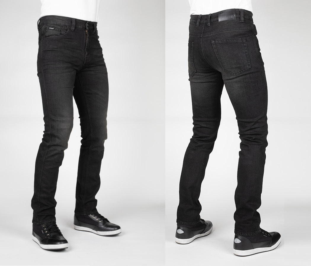 Black Bull-it Tactical Stone Straight Fit Jeans 32 x 32