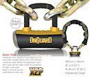 onguard 8016l beast 14mm 6ft 180cm chain lock. Black Bedroom Furniture Sets. Home Design Ideas