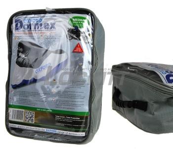 Oxford Dormex Indoor Motorcycle Dust Cover Medium Motorbike Covers Black Grey